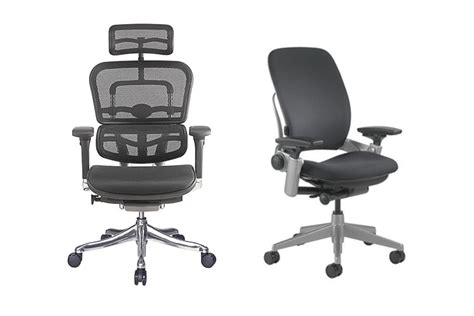 ergohuman vs steelcase leap chair what are the differences