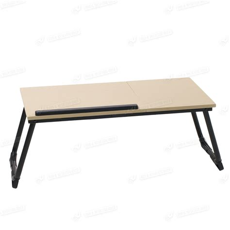 folding lap tray table portable folding stand laptop desk wooden lap bed tray