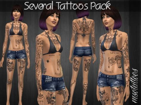 luvjakes  tattoos pack
