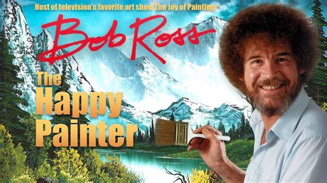 Pbs Painter Bob Ross Is Now A Video Game Character