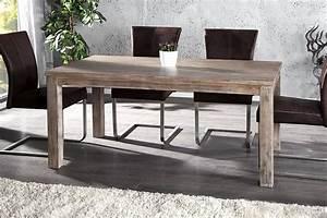 Table Bois Metal Extensible : table a manger extensible bois ~ Teatrodelosmanantiales.com Idées de Décoration
