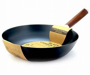 Wok Für Elektroherd : wokpfanne schwarzer carbonstahl insider asia feinkost lifestyle ~ Markanthonyermac.com Haus und Dekorationen