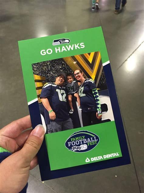 seahawks family football fest  centurylink  seattle