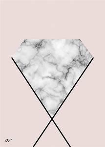 marble & diamond print society6
