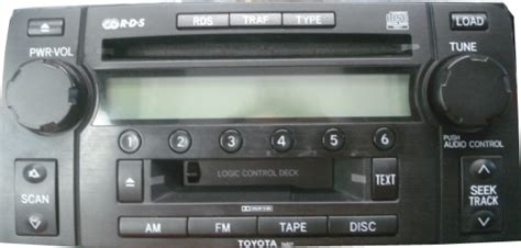 toyota stereo  cd changer repair