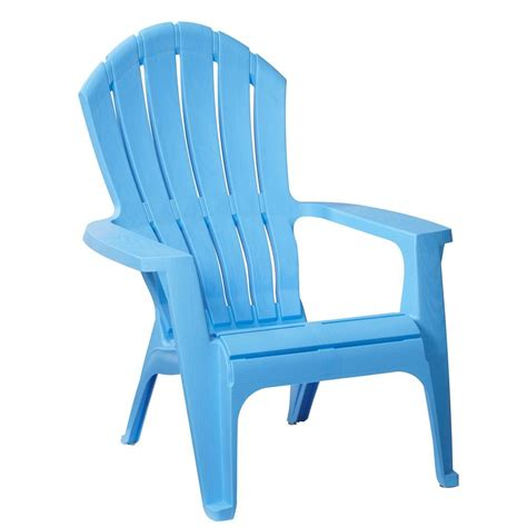 Blue Plastic Adirondack Chairs Home Depot by Unique Mahogany Plastic Outdoor Adirondack Chair Hanover