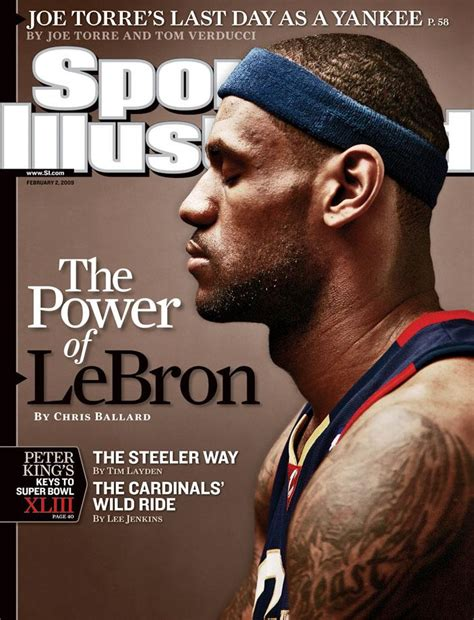 lebron james sports illustrated covers