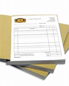 invoice books print ready With invoice books for sale