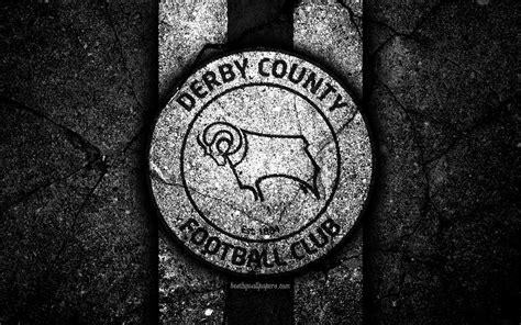 Download wallpapers 4k, Derby County FC, logo, EFL ...