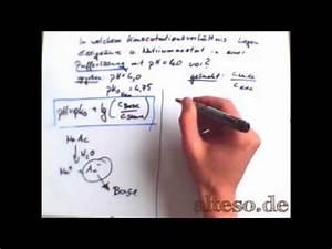 Pufferlösung Berechnen : pufferl sung konzentrationsverh ltnis bei gegebenen ph berechnen youtube ~ Themetempest.com Abrechnung
