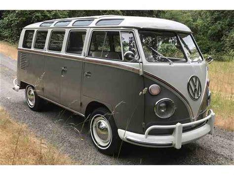 volkswagen van classic volkswagen bus for sale on classiccars com 32