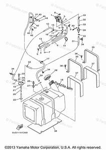 Yamaha Side By Side 2004 Oem Parts Diagram For Fuel Tank