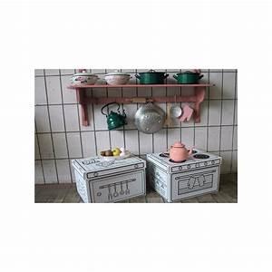 set de 2 boites de rangement cuisine en carton a colorier With boite de rangement cuisine