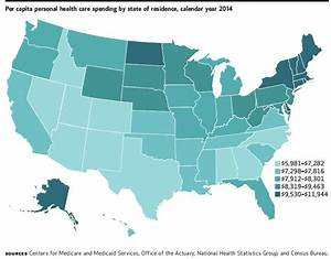 Total Health Care Spending by State: Trends   Milbank ...