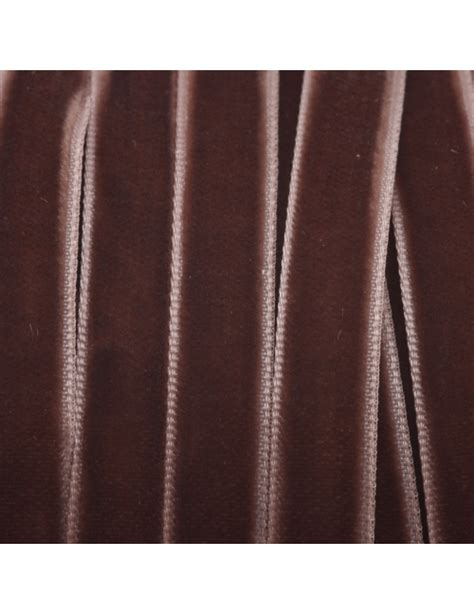 Samta lentīte, brūnā krāsā, Platums: 10 mm