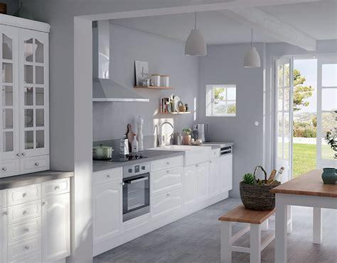 meubles cuisine blanc meuble blanc de cuisine cuisine en image