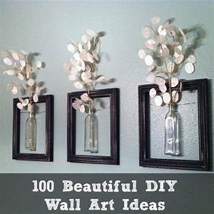 Diy photo wall ideas without frames : Creative diy wall art ideas to decorate your space