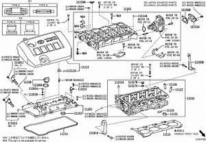 2016 Toyota Corolla Gasket  Spark Plug Tube  Engine