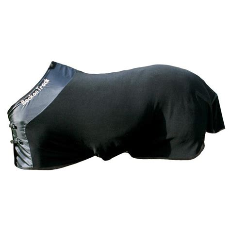 track equine fleece blanket