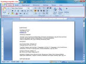 resume font and size 2015 videos learn microsoft office word 2007 home tab it computer training learningcomputer com
