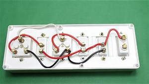 How To Make An Electric Extension Board Two Sockets With