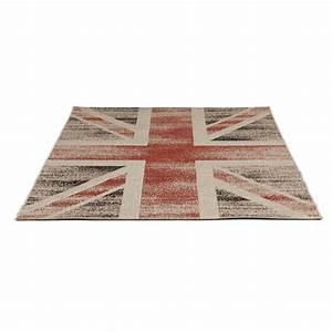 tapis contemporain et design drapeau uk rectangulaire With grand tapis rectangulaire