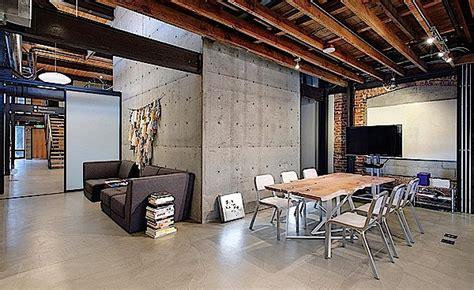 desain interior industrial  kantor  plafon pvc