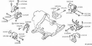 Nissan Altima Bolt  Engine