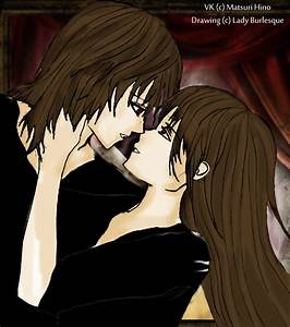 vampire knight zero and yuuki kiss