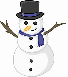 This cute snowman clip art is licensed under the Creative ...