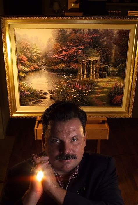 thomas kinkade popular bay area artist dies
