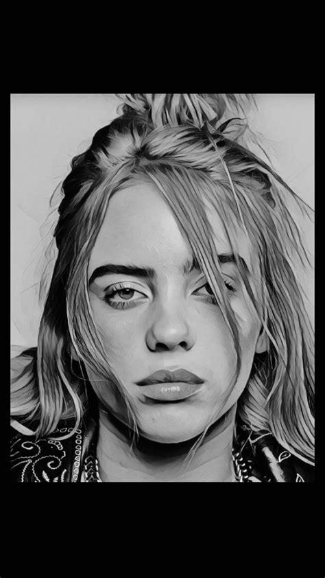 Eilish Billie Drawings