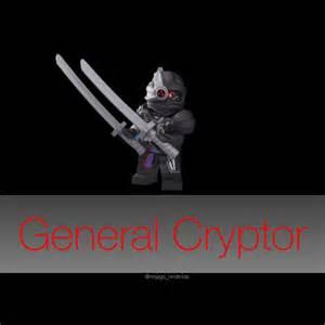LEGO Ninjago General Cryptor