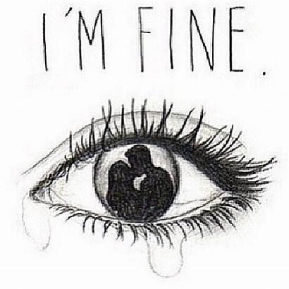 Drawings Sad Drawing Eyes Eye Couple Crying