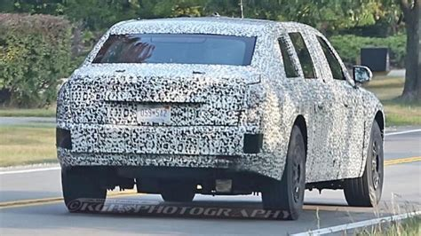 s cadillac the beast is more like thank than car exclusive s new presidential limousine with secret