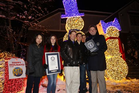 the gay family holds guinness record for largest