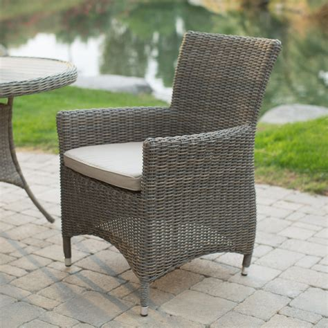 belham living all weather wicker patio dining chair