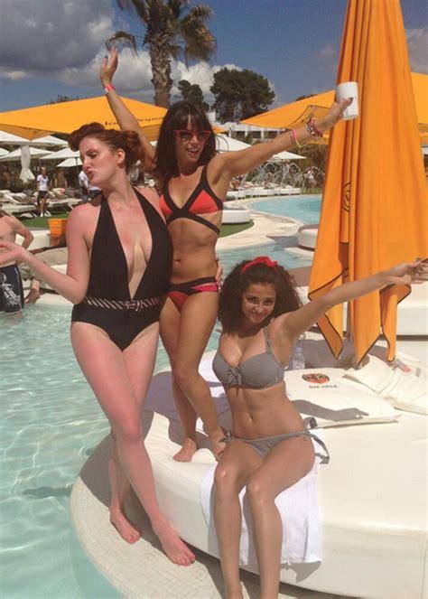 jessica actress hollyoaks jessica fox celebrates her birthday in ibizia with friends