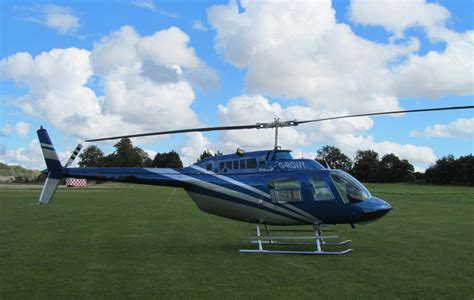 Bell 206 Jet Ranger For Self Fly Helicopter Hire From