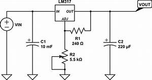 Power Supply - Keeping The Output Of A Heated Lm317 Constant