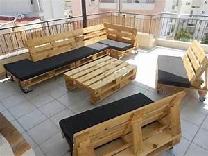 Meuble Pour Terrasse : 52 id es pour fabriquer votre meuble de jardin en palette ~ Premium-room.com Idées de Décoration
