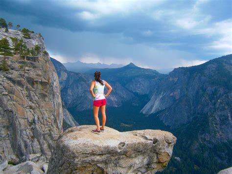 Yosemite National Park Hiking The Upper Falls Trail