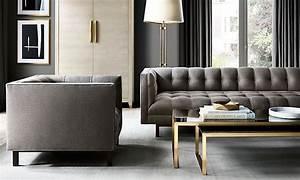 Rooms rh for Restoration hardware living room furniture