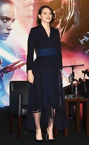 Daisy Ridley Attends Star Wars  The Rise Of Skywalker