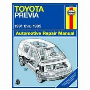 Toyota Previa Repair Manual