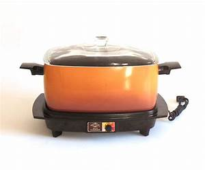 West Bend Slow Cooker Oblong Vintage 1980s Small Appliances