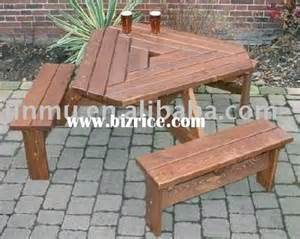 Outdoor Wooden Folding Picnic Table