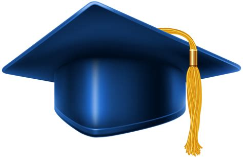 Graduation Cap And Diploma Clipart