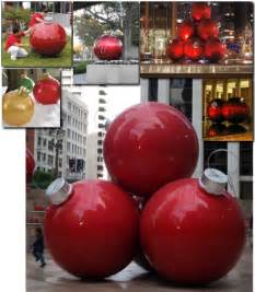 Extra Large Outdoor Christmas Ornaments