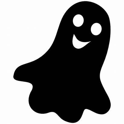 Ghost Smiling Sticker Halloween Stickers Decals Clipart